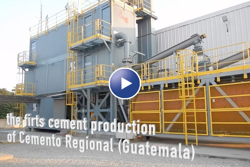 Plug&Grind® Classic on production in Guatemala CEMENGAL: ENGINEERING